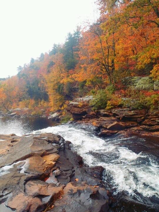 Little River Canyon Falls , Alabama