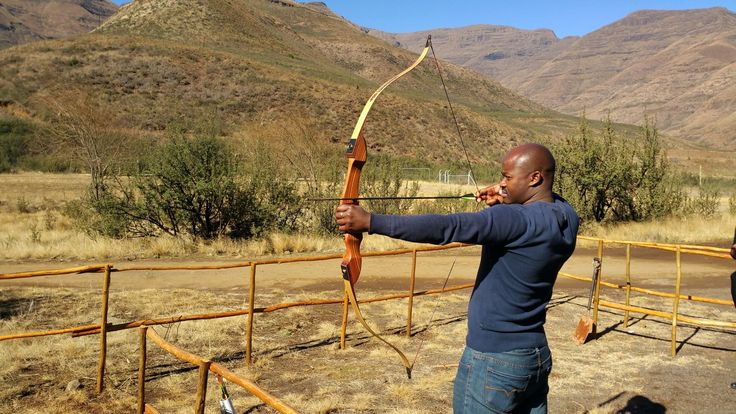 Archery at Maliba Lodge #Lesotho