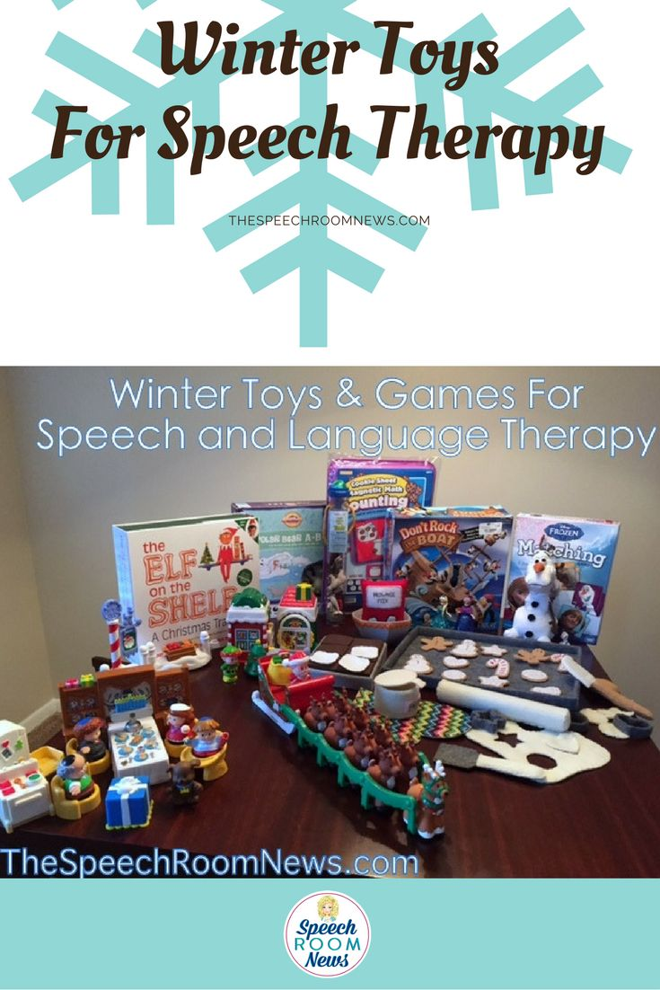 Winter Toys and Games for Speech and Language Therapy - Speech Room News