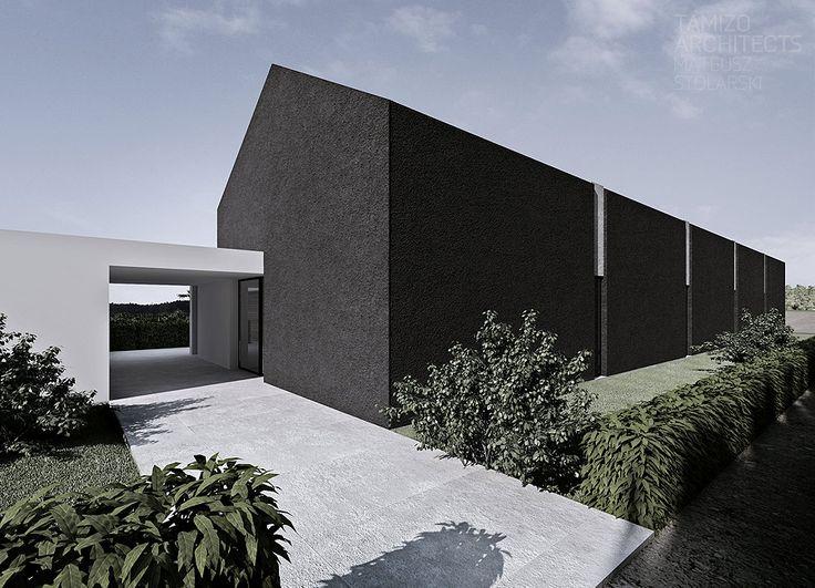 186 besten satteldach haus bilder auf pinterest einfamilienhaus moderne h user und fassaden. Black Bedroom Furniture Sets. Home Design Ideas