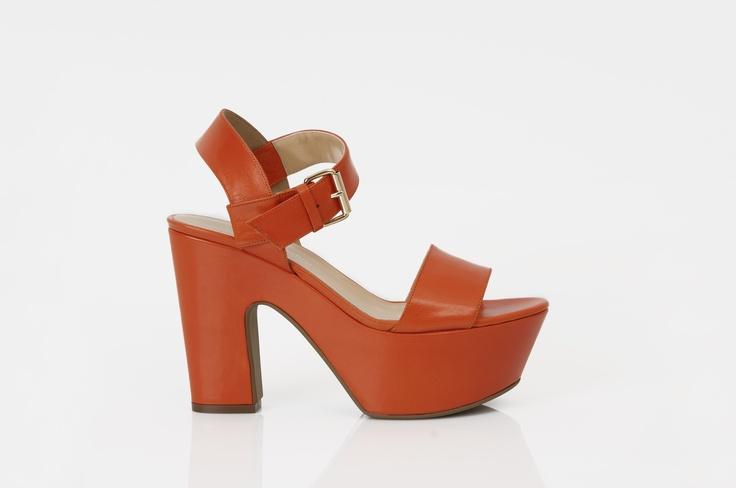 orange#heels#shoes#sandal#gianna meliani#summer#love
