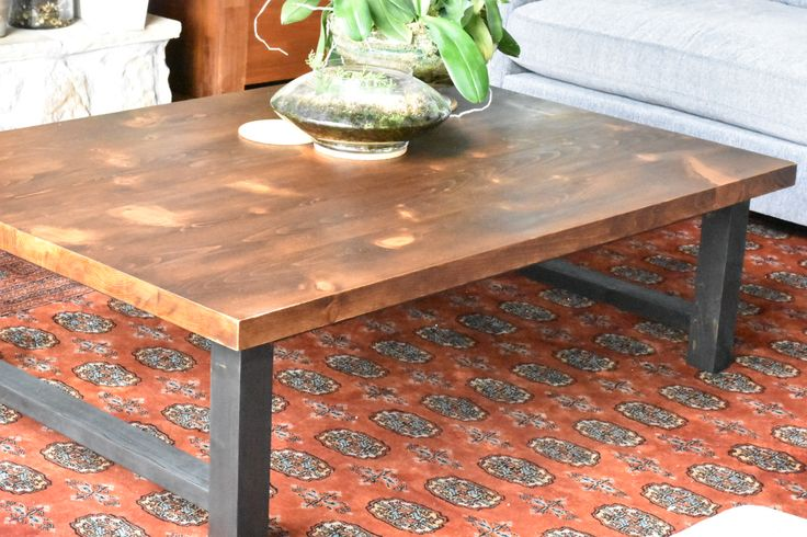 Coffee Table - Black/Brown