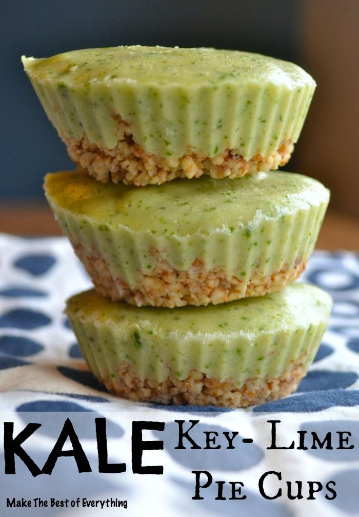 Kale Key Lime Cups.. Delicious!