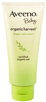 AVEENO ORGANIC Baby Harvest Diaper Rash Cream is formulated with nourishing organic oat, promotes healing and begins to alleviate diaper rash on contact.