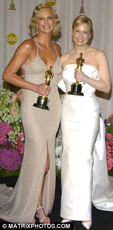 Charlize Theron.  2003 Best Actress / Monster  &  Rene Zellweger.  2003 Best Supporting Actress / Cold Mountain