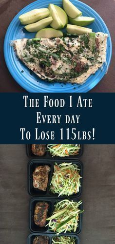 The Food I Ate Every Day to Lose 115lbs! If you were every curious about the food it takes to lose over 100lbs then check out this post. Very inspiring!