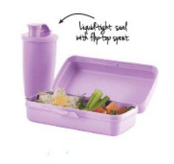 lunch set (purple daisy)