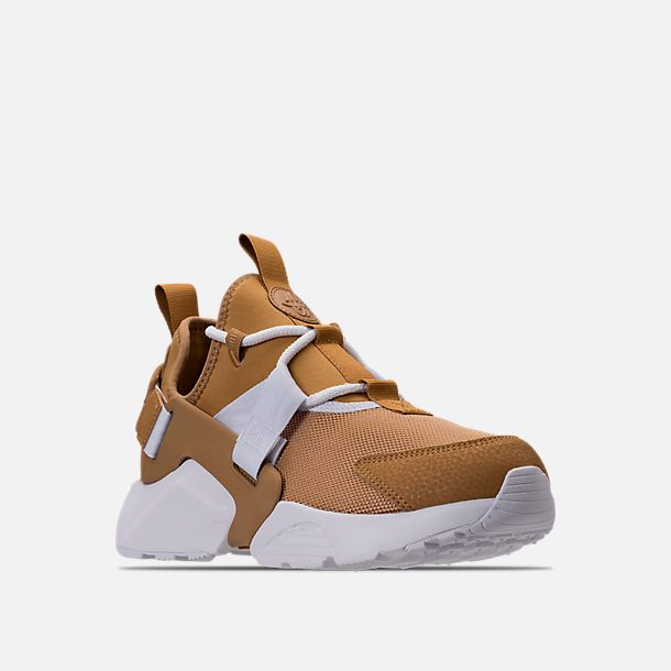 9a44b02ae7a3 Three Quarter view of Women s Nike Air Huarache City Low Casual Shoes in