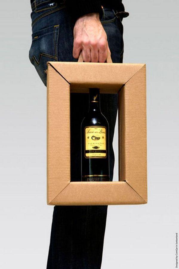 Бумажные пакеты_креативная реклама_упаковка для вина