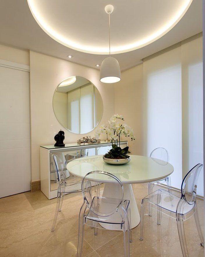 Para salas de jantar pequenas a composi o de cadeiras for Mesas redondas pequenas