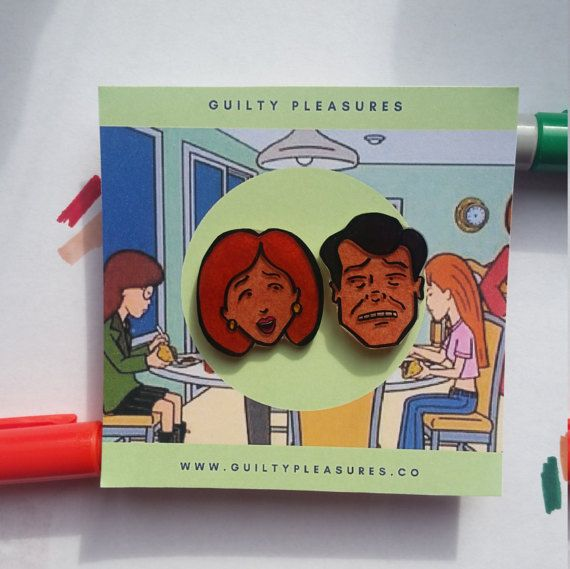 Helen and Jack Morgendorffer. Whether you like it or not, were all like our parents. So are you stressed and full of remorse (=Helen) or angry and anxious (=Jake)?   Shrink Paper Pins.