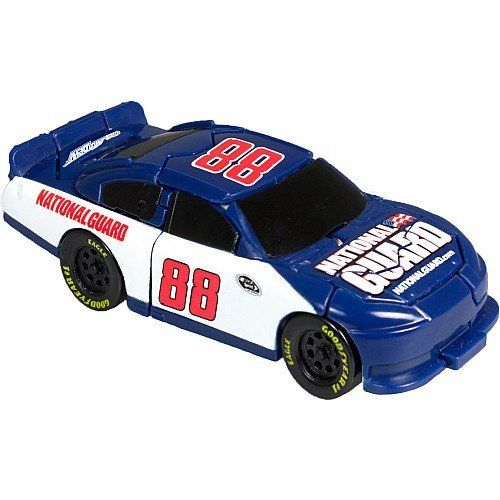 Nascar Bashers Full Blast Crash Car - #88 Dale Earnhardt Jr. - National Gaurd by Spin Master. $16.34. Front Impact. Nascar Bashers Full Blast Crash Car - #88 Dale Earnhardt Jr. - National Gaurd. Ages 3+. Finally a car that actually crashes! Discover the impact of the all-new NASCAR Full Blast Crash Cars! Each one is triggered by a unique impact point, resulting in a destructive transformation. Hit them in any direction and they'll burst upon impact! Your Stock Car...