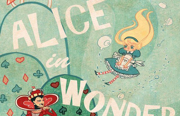 Beautiful Alice in Wonderland Illustrations