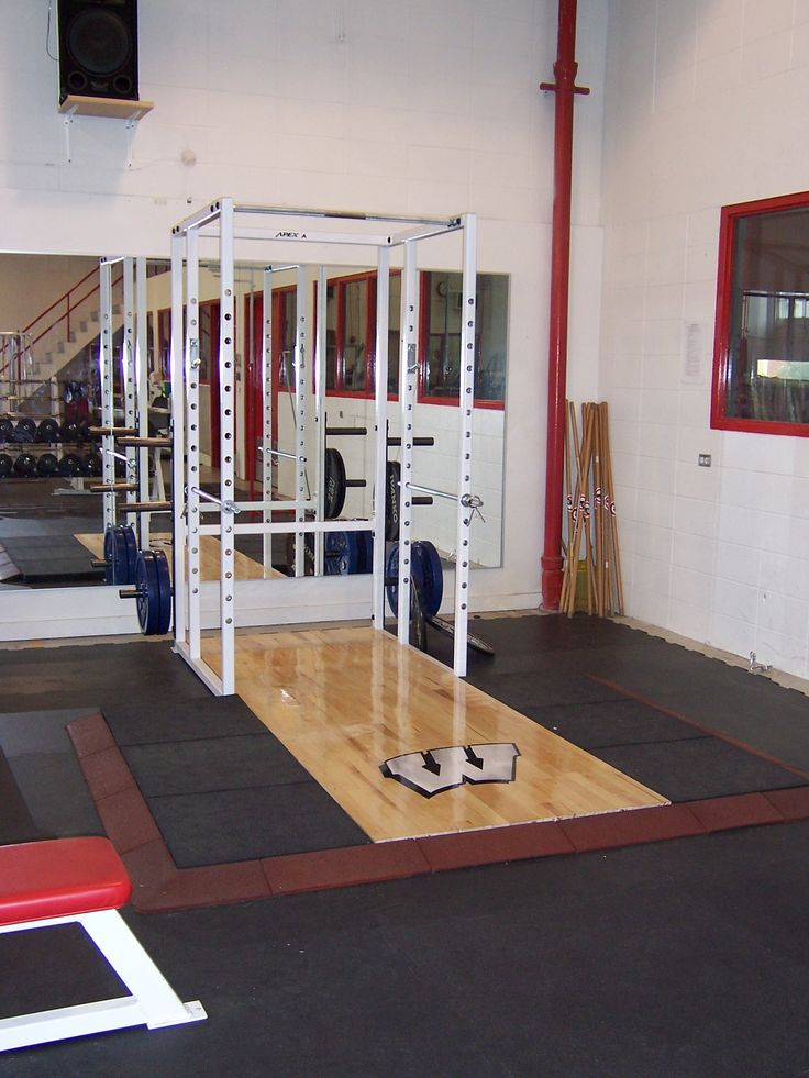Tired of deadlifts hitting the ground? Utilize our Stride Fitness Tiles for weight lifting stations; their impact absorbing backing greatly reduces the vibrations and noise when heavy weights are dropped, while offering protection for your sub floor. Check out our website for more info www.dinoflex.com #Stridefitnesstiles #Rubberflooring #Dinoflex