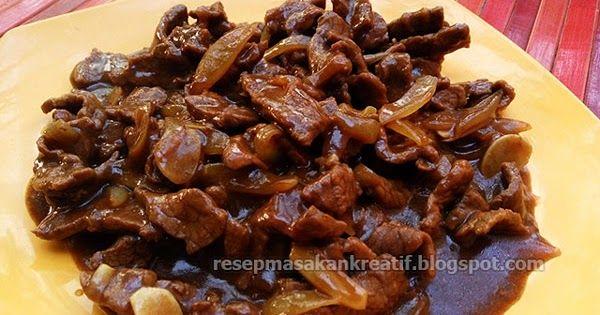 Resep Daging Sapi Teriyaki Praktis Pakai Saus Saori Resep Daging Sapi Resep Daging Resep