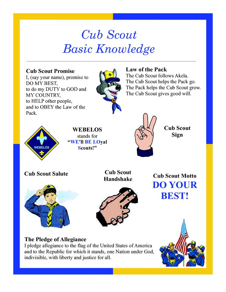 our guides internet site website scouts basic boys scouts cheat sheet ...