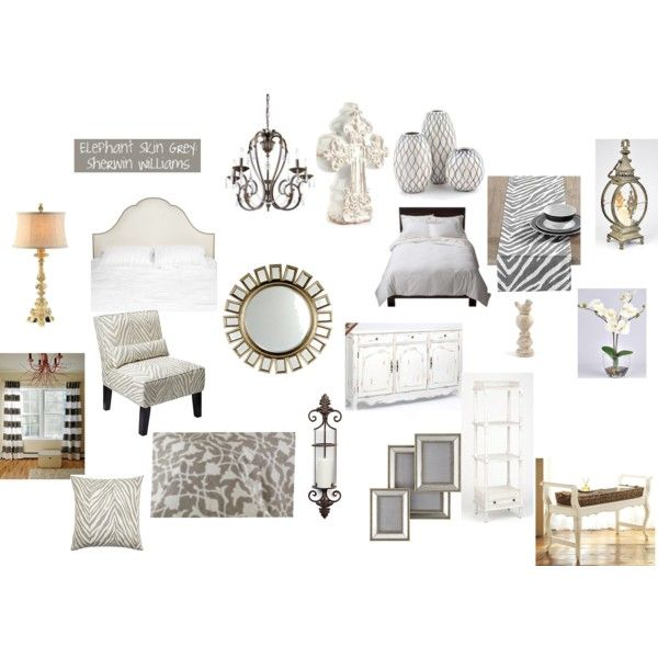 atwjk.com  grey, cream and white bedroom