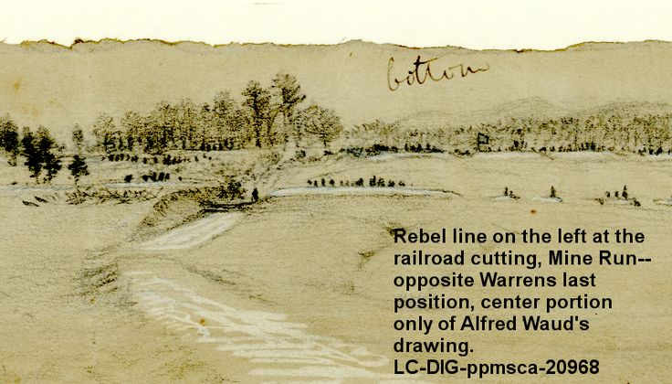 Meade sent three corps against Lee's right flank around a small valley called Mine Run November 26, 1863. By December 1, however, Meade realized it was foolish to continue and brought his men back across the Rappahannock River into winter quarters.