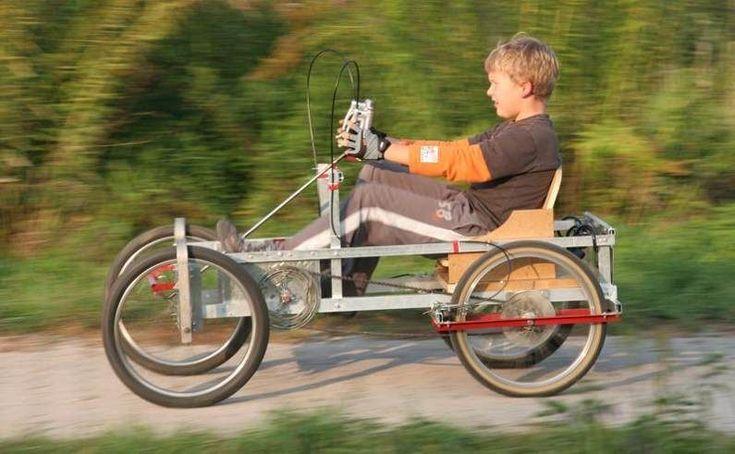 Diy 3 Wheel Bike Picture Of Do It Yourself 4 Wheel Adult