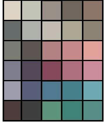 Мягкое лето. Мягкие цвета  - это  самые  спокойные  цвета  палитры, не  привлекающие  особого внимания.  Обычно  их  используют  в  базовой  одежде. Это  фон, все  то, что  будет  спокойно  сочетаться  с  другими  цветами  палитры, не  привлекая  к  себе  внимания. Кроме  того, в  палитре  мягкого лета  есть  мягкие  розовые  оттенки.  их  используют  не  для  базы, а  скорее  для  выражения спокойствия  и мягкости.