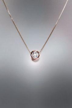 Best 25 single diamond necklace ideas on pinterest everyday 31 unique diamond necklace designs aloadofball Image collections