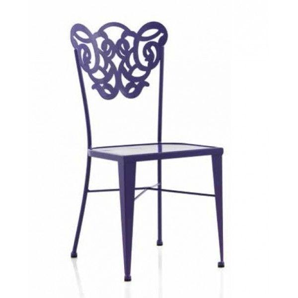 Silla de forja - sillas de forja modernas