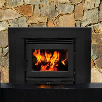The Neo 2.5 Insert | Pacific Energy Wood Fireplace Insert turns an inefficient fireplace into a cost-saving heater.  Explore this wood insert fireplace.