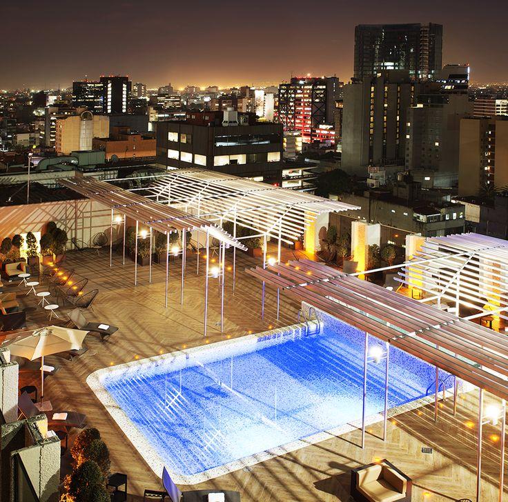¡Hermosa! Así es la vista que tendrás desde el penthouse de #GaleríaPlazaReforma, pues al estar en el corazón de la ciudad, te deleitará con hermosas postales.   #mexico #architecture #instagood #picoftheday #photo #relax #pool happy #adventure #CDMX #hotel #cute #like4like #december