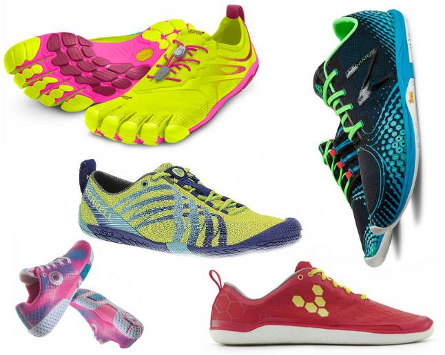 If you're looking to shed your traditional shoes for a lighter, more natural option, consider these top choices.  http://www.theactivetimes.com/best-barefoot-running-shoes-2014