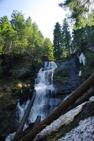 Vysoký vodopád - Jeseníky, Česká Republika