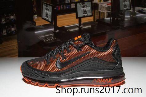 Nike Air Max 2018 Elite Orange Black KPU Men (40-47)