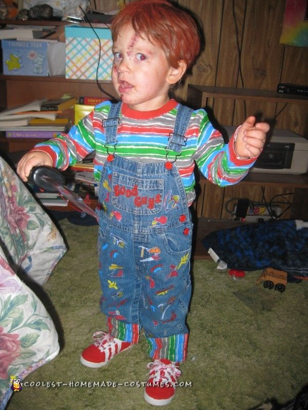 awesome chucky costume for a 2 year old boy - Homemade Halloween Costumes Ideas For Kids