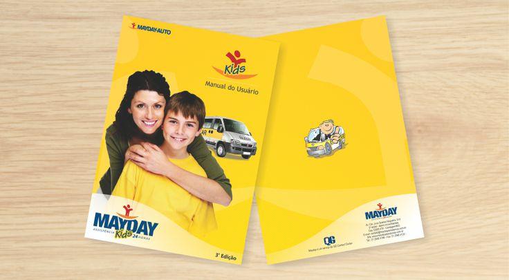 ManuaL criado para o serviço MAYDAY KIDS da empresa QG CONTACT CENTER.