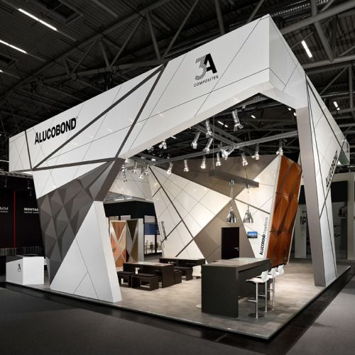 Exhibition Booth Structure : Alucobond deutschland faszination fassade exhibition