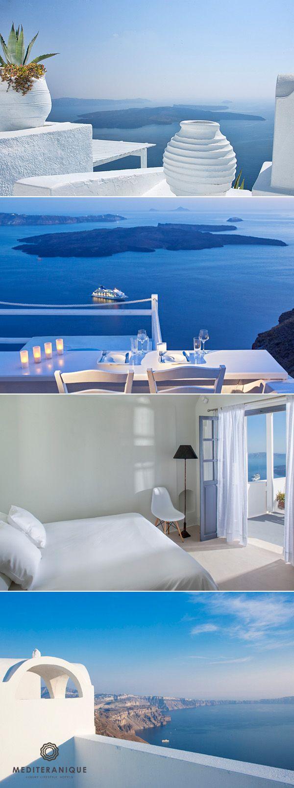 On the Rocks Hotel, Santorini, Greece http://www.mediteranique.com/hotels-greece/santorini/on-the-rocks-santorini/