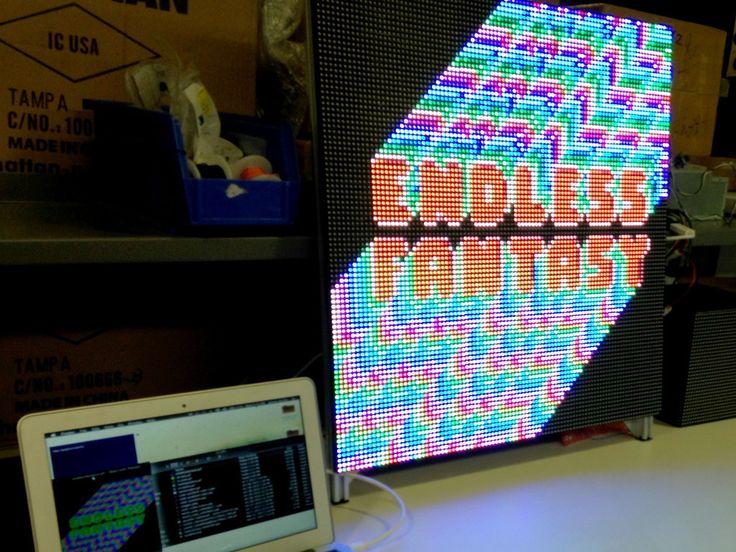 DIY LED Video Wall
