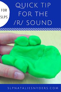 A quick tip for SLPs working on the dreaded /r/ sound!