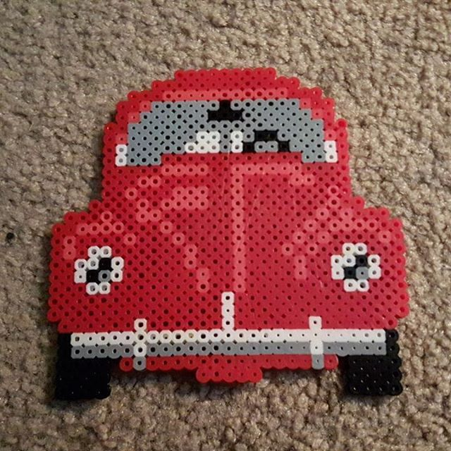 VW Beetle perler beads by  plurnt_perlers