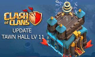download update game coc terbaru upgrade th 11 tawn hall 11