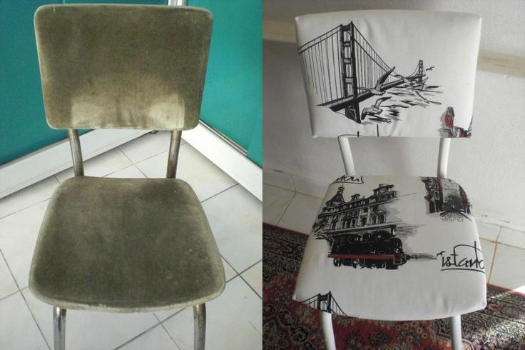 Sandalyenin eskisi, yenisi