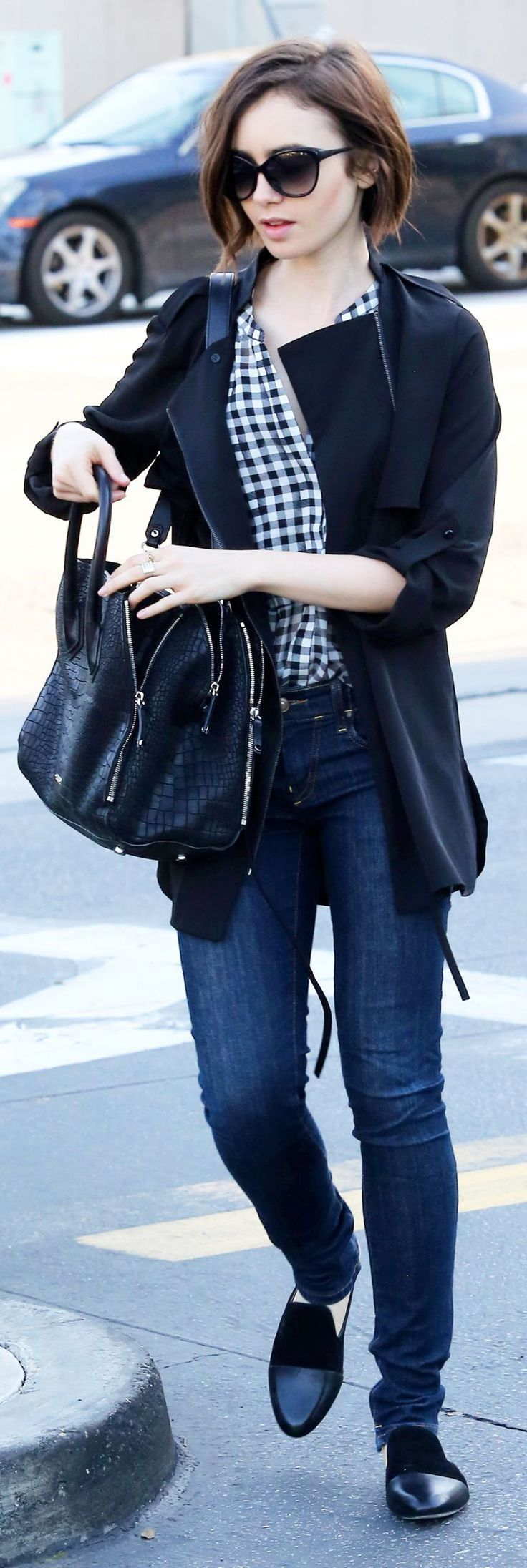 VISIT FOR MORE  Lily Collins  Out in Beverly Hills 3/17/2016  The publish Lily Coll…