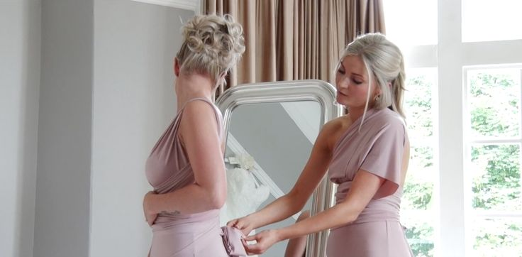We had to share this still of Kate's bridesmaids getting ready before the big day! to watch their #weddingfilm  click here https://vimeo.com/189276384 #weddingvideography #davespinkphotography #weddingphotography