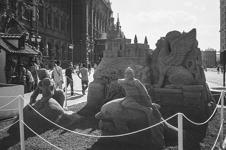 Sand sculptures on the «Moscow Jam» by Andrew Barkhatov on 500px