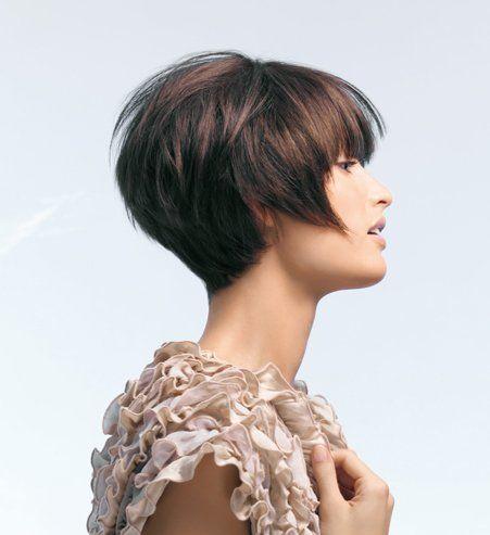 Coupe courte le court destructuré coiffures en 2019