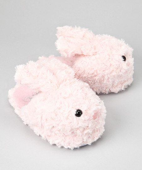 Pink Bunny Slipper