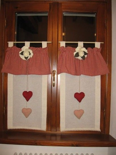 Oltre 1000 idee su tende country su pinterest mantovana - Tende da cucina country ...