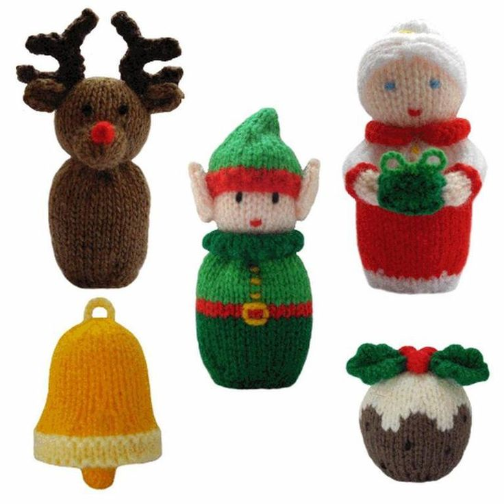 77 Best Knitting Christmas Ornaments Images On Pinterest