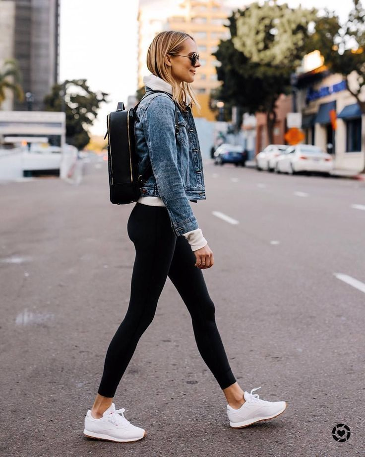 Casual Street Style Ootd Streetstyle Denim Jacket Women Fashion Clothes Women Casual Style Outfits