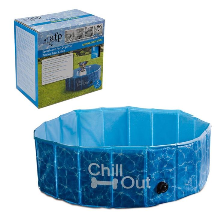 Piscina para Cães Afp Chill Out Splash And Fun Dog Pool - Pet Love