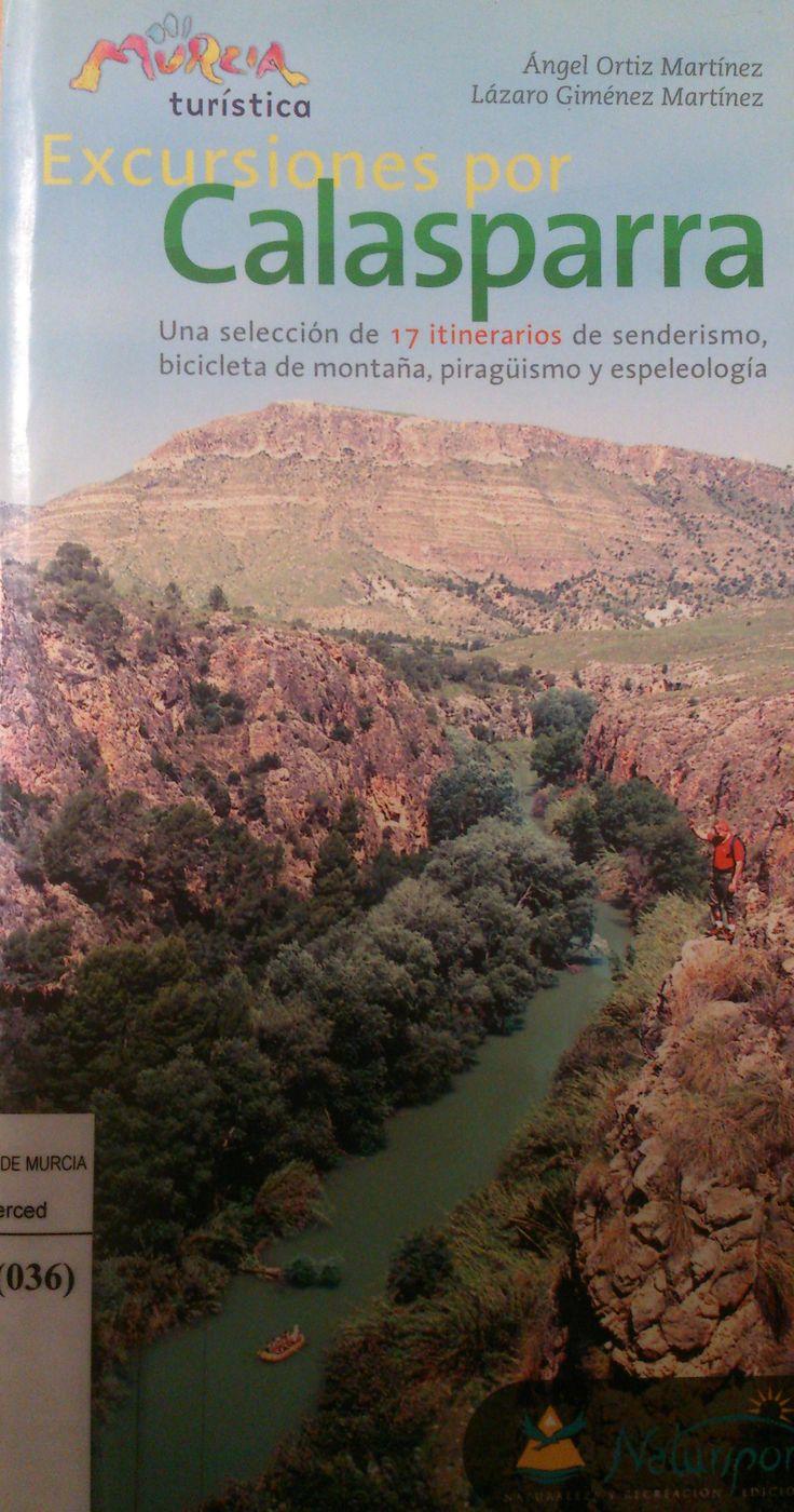 Excursiones por Calasparra : 17 itinerarios de senderismo, bicicleta de montaña, piragüismo y espeleología / Ángel Ortiz Martínez, Lázaro Giménez Martínez.-- Murcia : Natursport, 2001